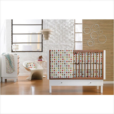 Mod+Dot+Crib+Bedding+Collection